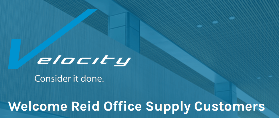 Velocity Has Acquired Reid Office Supply In Huntsville