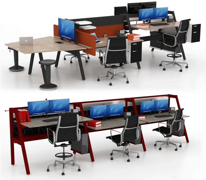 Introducing The Truss Workbench From Fluid Concepts | Office Furniture  Houston Texas