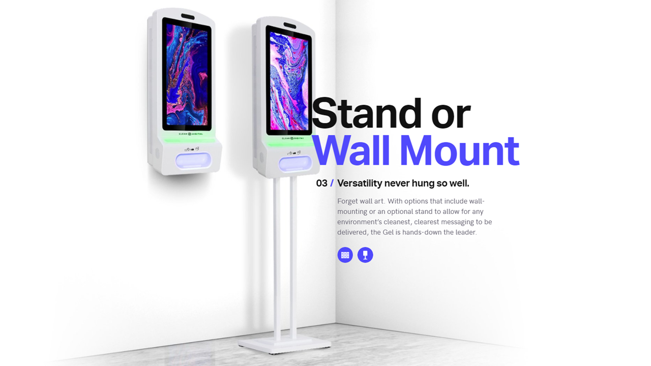 Stand or Wall Mount