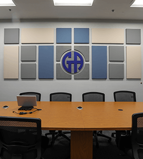 Reduce noise in conference room