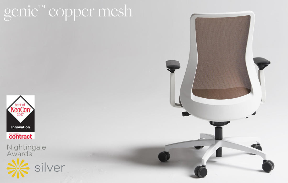 Award Winning Copper Mesh Seating