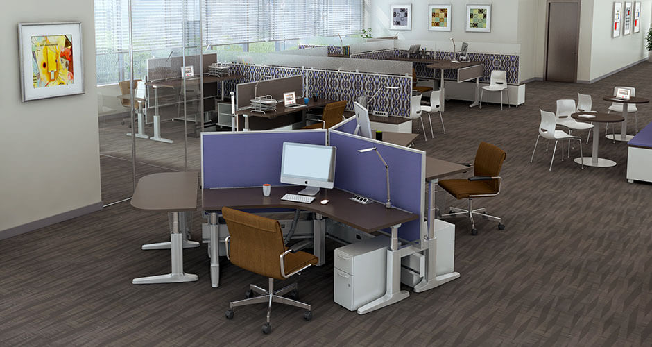 JRB Studio Animate Benching and Desking